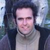 Gonzalo entre los burros de Fuente Teresa